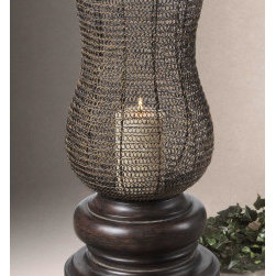 "19290 Rickma, Candleholder by uttermost - Get 10% discount on your first order. Coupon code: ""houzz"". Order today."
