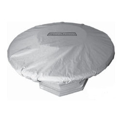 American Fyre Designs - Inverted Sedona Fire Table Cover - 8100SD - Protect your investment with this cover, made especially for your Inverted Fire Table.