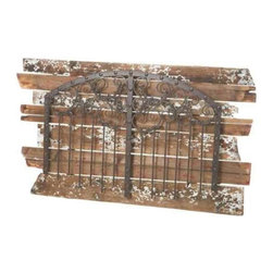 MIDWEST CBK - Rustic Black Wall Decor with Distressed Wood Planks - Rustic Black Wall Decor with Distressed Wood Planks. Shop home furnishings, decor, and accessories from Posh Urban Furnishings. Beautiful, stylish furniture and decor that will brighten your home instantly. Shop modern, traditional, vintage, and world designs.