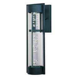 Maxim - Maxim MX 88353 New Age LED 1 Light with Dark Sky Outdoor Wall Sconce - Product Features: