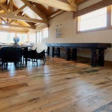Traditional Hardwood Flooring by Reclaimed DesignWorks