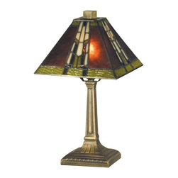 Dale Tiffany - New Dale Tiffany Accent Lamp Bronze Mission - Product Details