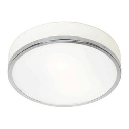 Access Lighting - Access Lighting C20670CHOPLEN1126B Aero 1 Light Flush Mounts in Chrome - This 1 light Flush Mount from the Aero collection by Access will enhance your home with a perfect mix of form and function. The features include a Chrome finish applied by experts. This item qualifies for free shipping!