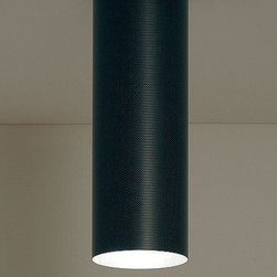 "Karboxx - Karboxx Tube ceiling light - The Tube ceiling light fromKarboxx has been designed by Enrico Franzolini with Vicente Garcia Jimenez. This ceiling mounted luminaire is great for incandescent lighting. The Tube is realized in carbon fibre with black-painted metal support.  Product Description  The Tube ceiling light fromKarboxx has been designed by Enrico Franzolini with Vicente Garcia Jimenez. This ceiling mounted luminaire is great for incandescent lighting. The Tube is realized in carbon fibre with black-painted metal support.  Details:                         Manufacturer:             karboxx                            Designer:                         Enrico Franzolini with Vicente Garcia Jimenez                                         Made in:            Italy                            Dimensions:                         Height: 15.7"" (40 cm) X Diameter: 5.5"" (14 cm)                                         Light bulb:                         1 X 150W incandescent                                         Material             Carbon fiber, Lacquered metal"