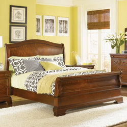 Evolution Sleigh Bed Set