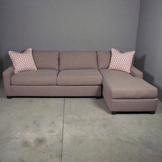 Eclectic Sectional Sofas by red: modern lines . vintage finds
