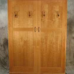 Cherry Murphy Bed - Robert Smielecki - Phi Woodworking and Design