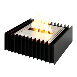 "Ignis Products - EBG1212 Ethanol Fireplace Grate - Go earth-friendly with this EBG1212 Ethanol Fireplace Grate. This grate and burner set comes with everything you need to convert your existing wood-burning fireplace into an eco-friendly ethanol-burning unit in just minutes. Simply clean your existing fireplace and insert this unit. It doesn't require any venting or special lines to be run, and it holds five full liters of fuel that offers up to eight hours of burning time between fills. It puts out 11,500 BTUs of heat, so it will keep you feeling cozy and snug all season long. This earth-friendly fuel does not produce any dangerous gases, soot, or smoke, so it is better for your family than other traditional heating sources. Dimensions: Grate: 15 1/2"""" x 15 1/2"" x 6"". Burner: 12"" x 12"" x 4 1/2"". Features: Eco-Friendly - doesn't produce any smoke, sooth or dangerous gases. Easy Maintenance - just wipe it with a damp cloth once in a while."