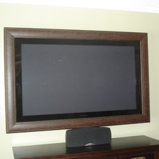 Contemporary Picture Frames by Smart Touch Design - Flat Screen TV Frames