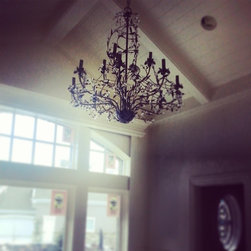 whimsical crystal chandelier -
