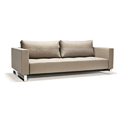 Innovation Supremax Deluxe Excess Sofa - Supremax Deluxe Excess Sofa Bed with chrome legs, additional colors available.