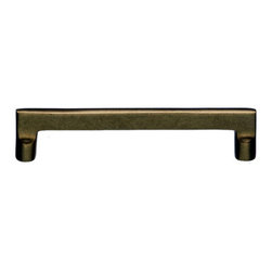 Top Knobs - Top Knobs Aspen Flat Sided Cabinet Pull 6 in. (c-c) - Top Knobs Aspen Flat Sided Pull 6 in. (c-c) | Cabinet Hardware