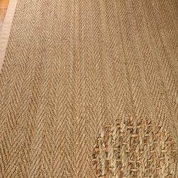 Opulence Seagrass Rug - Sage / Khaki - 100% Natural Seagrass Rug, Earth Friendly