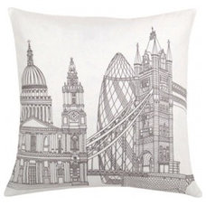 Contemporary Pillows by Blissliving Home