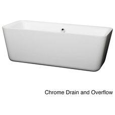 Contemporary Bathtubs by Overstock.com