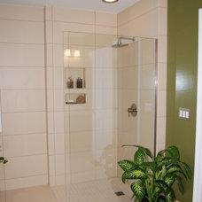Modern Showers by Fin Pan, Inc