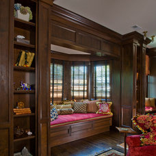 Traditional Family Room by Ann Clark Architects LLC