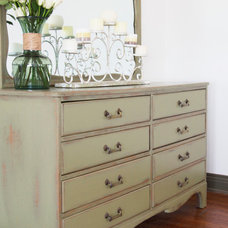 Eclectic Dressers by Kelly Martin Interiors, LLC