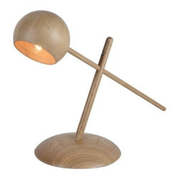 ParrotUncle - Solid Wood Design Adjustable Task Reading Lamp - Solid Wood Design Adjustable Task Reading Lamp