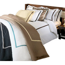 Contemporary Duvet Covers And Duvet Sets by Bed Linens and More