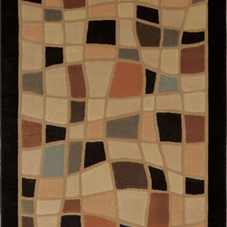 """Home Dynamix - Home Dynamix Rug, Black, 7' 10"""" x10' 5"""" - The Catalina Collection by Home Dynamix."""