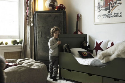 Eclectic  boy room
