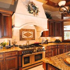 Mediterranean Kitchen by Barbara Krai Interior Design