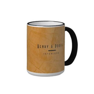 Classy Rustic Dante Orange Interior Designer Coffee Mug Business Branding - Corbin Henry