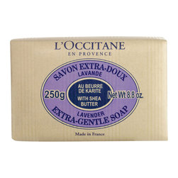 Shea Butter Extra Gentle Soap, Lavender - Rough hands are not for the upper classes. Keep a few bars of good gentle soap on hand to keep your paws soft. Soap bars also bring a clean, fresh scent to whatever room they sit in. My mother has been known to keep a bar of soap in her lingerie drawer.