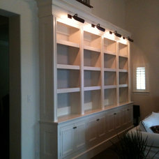 Traditional Bookcases by JB Woodwork