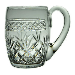 Lavish Shoestring - Consigned Cut Glass 1/2 Pint Beer Tankard by Webb, Vintage English - This is a vintage one-of-a-kind item.