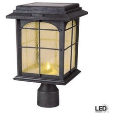 Contemporary Post Lights by Home Depot
