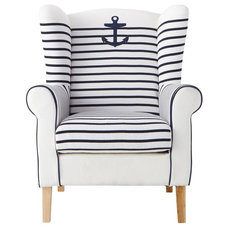 contemporary armchairs by Maisons du Monde