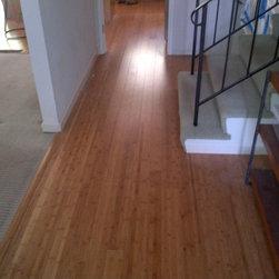Residential remodel - Los Angeles - Original bamboo floors