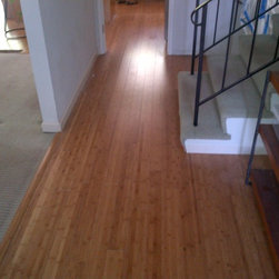 Residential remodel - Los Angeles - Original bamboo floors