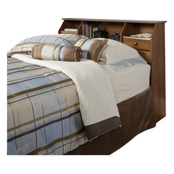 Sauder - Sauder Shoal Creek Full or Queen Headboard in Oiled Oak - Sauder - Headboards - 410847
