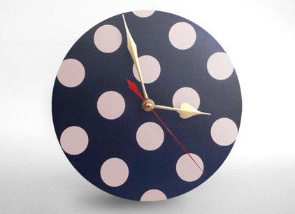 Contemporary Wall Clocks by Etsy
