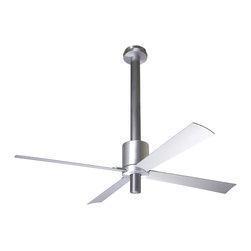 "Modern Fan Company - Modern Fan Company Pensi Aluminum Anthracite 50"" Ceiling Fan + Wall Control - Features:"