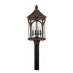 Hinkley Lighting - Hinkley Lighting 2311CB Lucerne X Large Outdoor Lantern in Copper Bronze - Hinkley Lighting 2311CB Lucerne X Large Outdoor Lantern in Copper Bronze