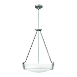 Hinkley - Hinkley Hathaway 3-Light Antique Nickel Up Pendant - 3222AN-LED - This 3-Light Up Pendant is part of the Hathaway collection and has a Nickel finish.
