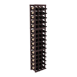 Wine Racks America - 3 Column Magnum/Champagne Wine Kit in Redwood, Burgundy + Satin Finish - Easy to expand or add to an existing cellar, this Magnum wine racking kit is designed for ultimate flexibility. Our specialized magnum rack accommodates 2 whole cases of abnormally shaped bottles, and then some! We promise this rack will stand up to the test of time.