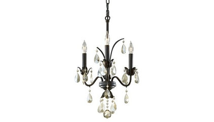 Home Solutions by Feiss F2756/3 Charlotte 3-Light Chandelier - Lighting Universe
