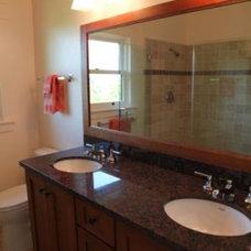 Traditional Bathroom by Coast Construction Company