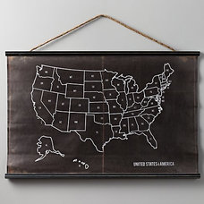 USA Chalkboard Map USA Chalkboard Map