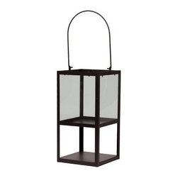 Urban Trends Square Brown Metal Lantern - About Urban Trends Collection:Urban Trends Collection is a leading home décor and decorative home accessories company. They specialize in the latest home furnishings, decorative home accessories, accent pieces, and garden accessories. Urban Trends is a global company that provides quality, reasonably priced home decor to their customers. They deal extensively in decorative home accessories items crafted in Spain, China, India, Turkey, and the Philippines. Urban Trends works with the best artisans and craftspeople as well as only quality manufacturers and reputable factories.