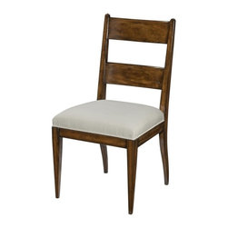 EuroLux Home - New Dining Side Chair Dalton Santa Fe Finish - Product Details