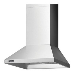 """Viking 3 Series 30"""" Chimney Wall Hood, Stainless Steel 
