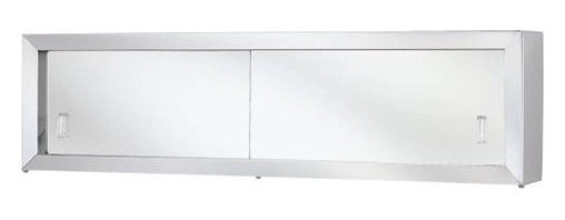 """National Brand Alternative - Cosmetic Box With Mirror Door 30 In. - Stainless Steel Frame Heavy Duty Steel Cabinet with Rust Resistant Enamel Interior 2 Adjustable Shelves, Reversible Door Wall Opening: 14""""W X 24""""H X 3-1/2""""D Mirror Size: 16""""W X 26""""H - Manufacturer: National Brand Alternative - ELECTRICAL - ELECTRICAL CONTROLS - TIMERS - DIGITAL TIMERS."""