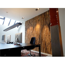 Contemporary Home Office by William Bosc