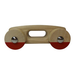 RootsRoller USA - Roots Roller Toy, Primary Red - A simple toy.